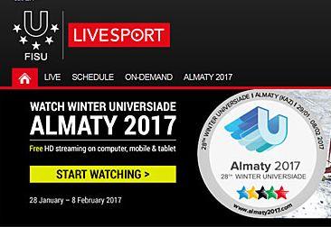 Suivez les compétitions en livestreaming!