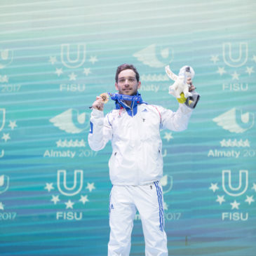 Baptiste Jouty : un Bleu en or!