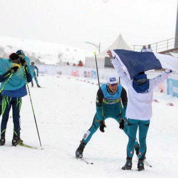 Le sprint mixte offre une sixième médaille à la France!